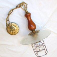 Vintage: LAMPARA DE TECHO TIPO INDUSTRIAL. Lote 126036427