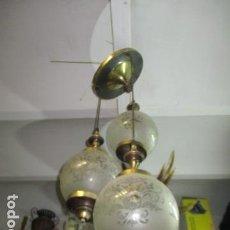 Vintage: LÁMPARA AÑOS 70. CASCADA. SÚPER VINTAGE.. Lote 165053026