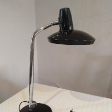 Vintage: LAMPARA FASE FARO VINTAGE. NEGRO Y CROMO. LEER DESCRIPCION.. Lote 166320404
