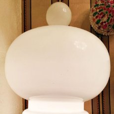 Vintage: LAMPARA SOBREMESA CRISTAL MAZZEGA-ALDO NASON . Lote 166469034