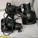 Vintage: FOCOS LAMPARAS INDUSTRIALES APLIQUES DE TEATRO ANTIGUOS STRAND ELECTRIC LONDON - VINTAGE. Lote 166924088