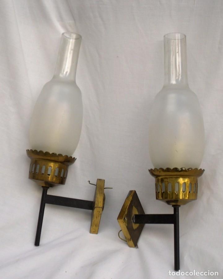 APLIQUES DE PARED DE LOS AÑOS 60 (Vintage - Lámparas, Apliques, Candelabros y Faroles)