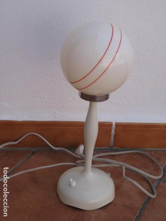 Vintage: Lámpara de mesa Vintage. - Foto 5 - 167866404