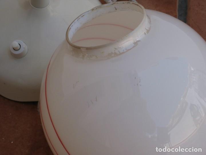 Vintage: Lámpara de mesa Vintage. - Foto 7 - 167866404