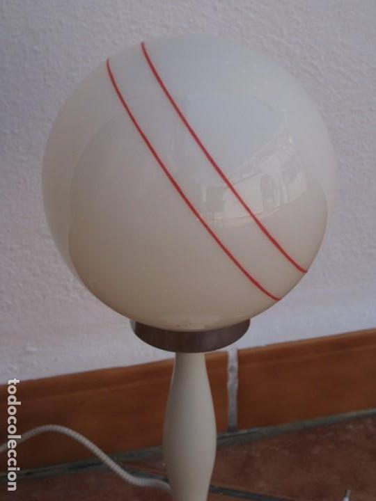 Vintage: Lámpara de mesa Vintage. - Foto 9 - 167866404