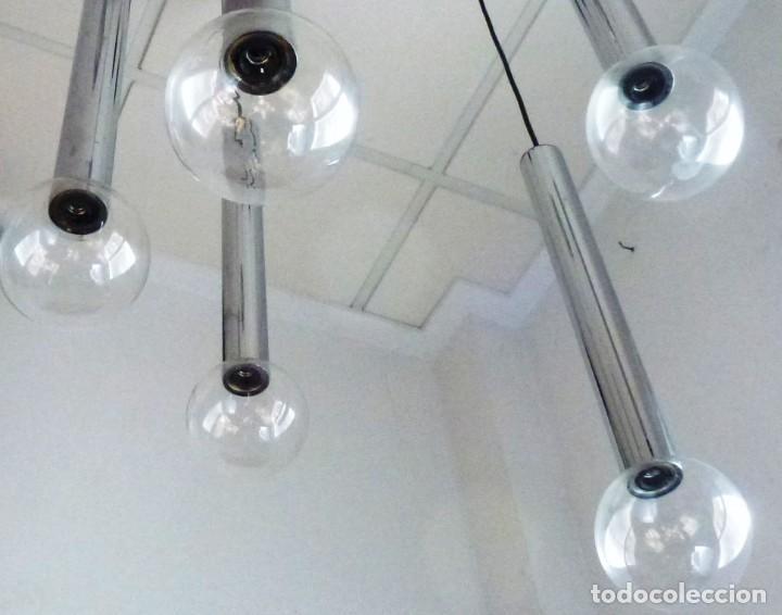 Vintage: Lampara de techo,colgante de cascada.Staff - Space.Años 70. - Foto 3 - 168234764