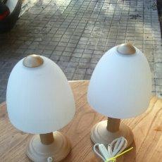 Vintage: PAREJA DE LAMPARAS SETA. Lote 168739412
