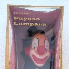 Vintage: LÁMPARA PAYASO FIELTRO. Lote 170356484