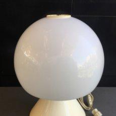 Vintage: LAMPARA VINTAGE DE MESA TIPO SETA DE METALARTE AÑO 1971. Lote 48329509