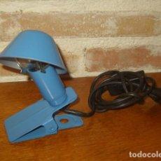 Vintage: LAMPARA DE PINZA.. Lote 170556808