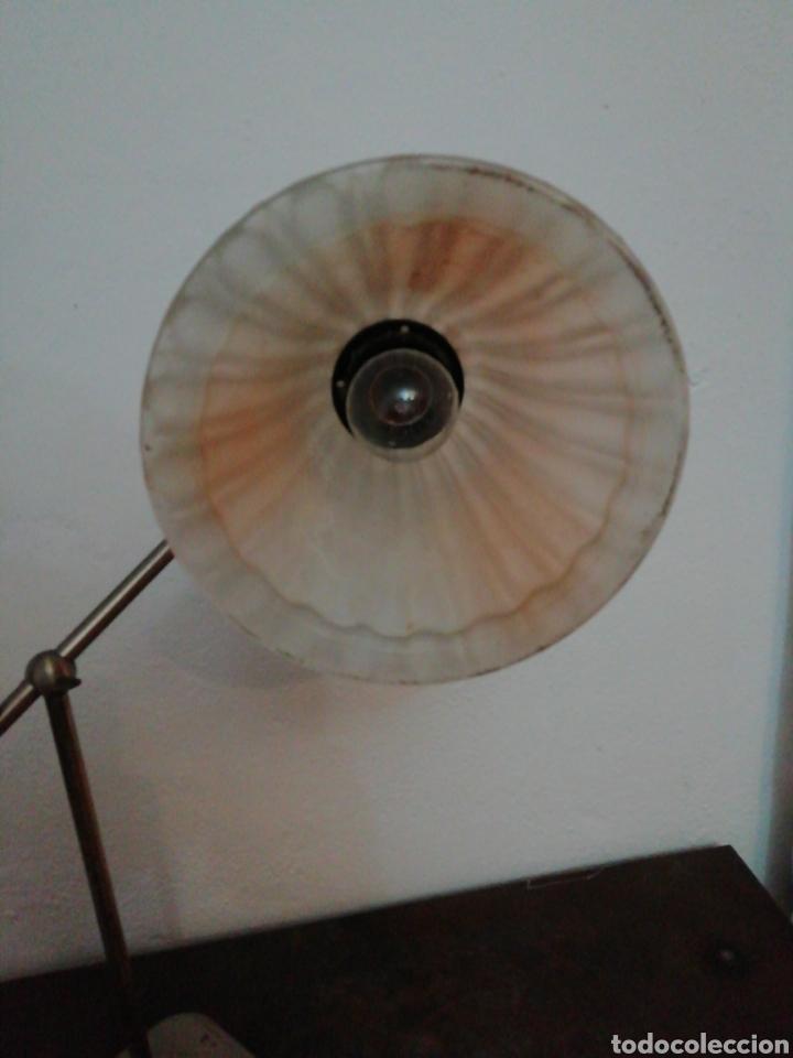 Vintage: Lámpara de sobremesa industrial - Foto 4 - 170574358