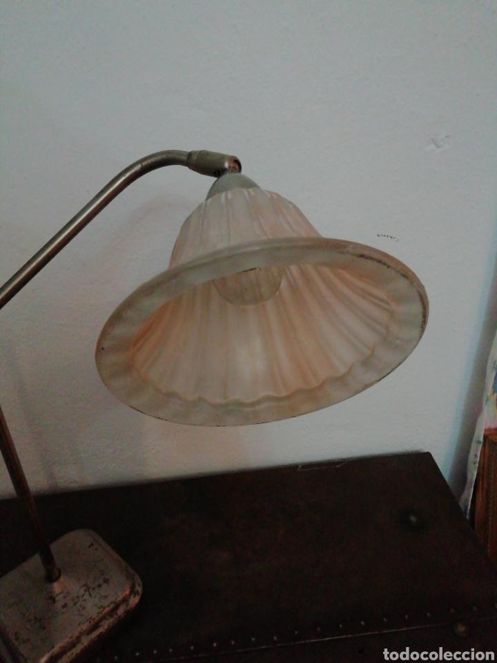 Vintage: Lámpara de sobremesa industrial - Foto 5 - 170574358