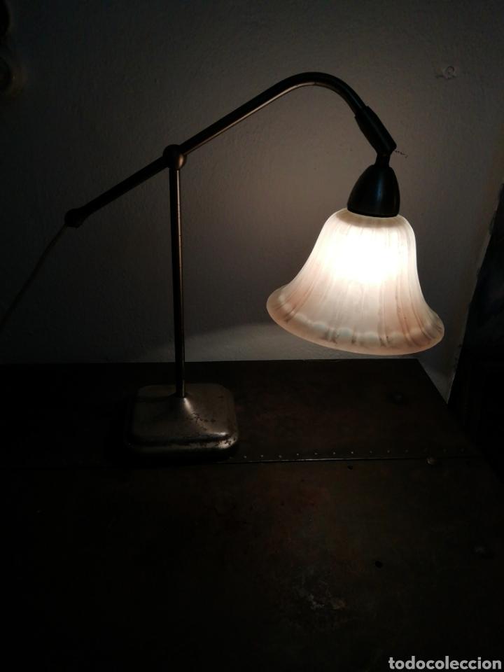 Vintage: Lámpara de sobremesa industrial - Foto 7 - 170574358