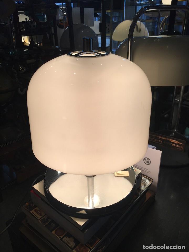 Vintage: VINTAGE LAMPARA DE MESA TIPO SETA MARCA CODIALPO DE LOS AÑOS 70 - Foto 5 - 171324619