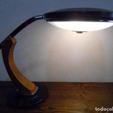 Vintage: LAMPARA FASE - VINTAGE - DE DESPACHO - MODELO PRESIDENT - FUNCIONANDO -. Lote 171344548
