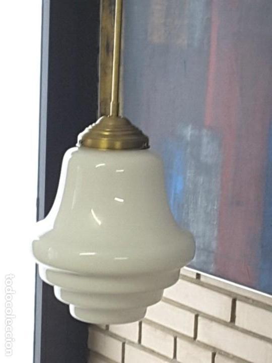 Vintage: Lámpara art deco - Foto 3 - 171505259