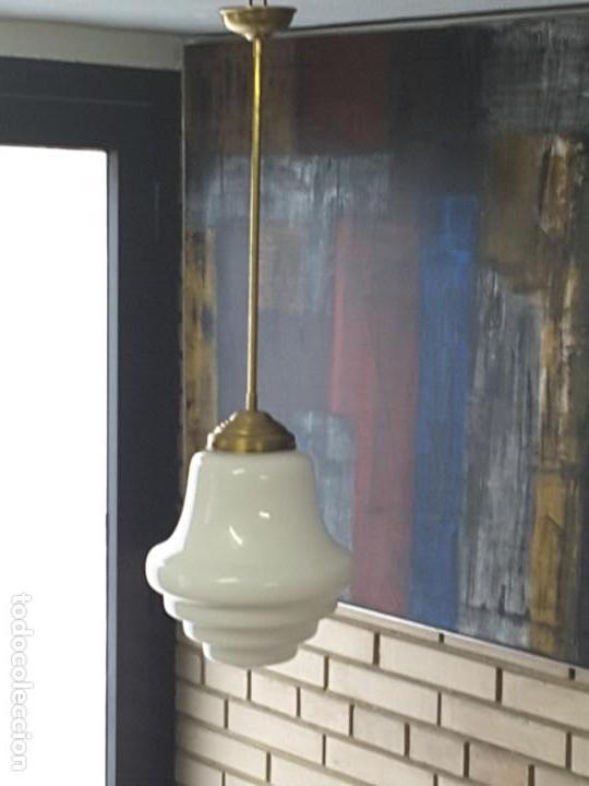 Vintage: Lámpara art deco - Foto 5 - 171505259