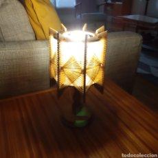 Vintage: LAMPARA DE RATAN / LAMPARA NORDICA / LAMPARA VINTAGE. Lote 171771780
