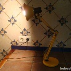 Vintage: LAMPARA FLEXO DE MESA FASE AMARILLA. Lote 172177027