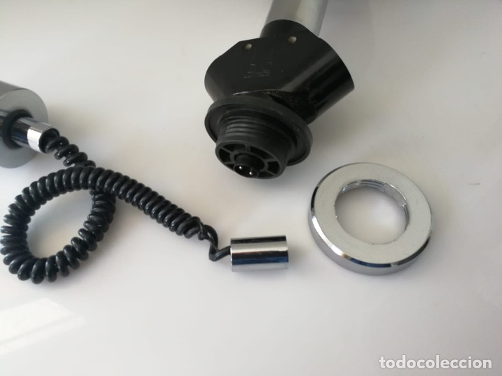 Vintage: Lámpara de techo colgante Lumica en cristal negro - Foto 9 - 172851822