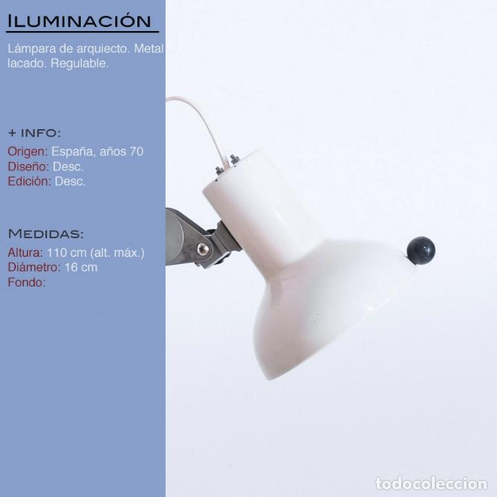 Vintage: Lámpara de arquitecto, años 70 - Foto 2 - 173058952