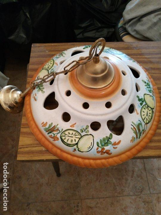 LAMPARA PORCELANA (Vintage - Lámparas, Apliques, Candelabros y Faroles)