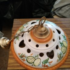 Vintage: LAMPARA PORCELANA. Lote 173222410