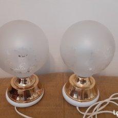 Vintage: LAMPARAS DE SOBREMESA. MESILLA DE NOCHE. RETRO VINTAGE. ORIGINAL AÑOS 70.. Lote 173497223