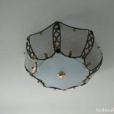 Vintage: PRECIOSA LAMPARA DE TECHO PLAFON PLAFOND, VINTAGE. Lote 173600229