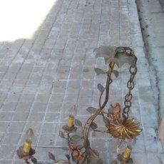Vintage: GRAN LAMPARA DE HOJAS. Lote 174005874