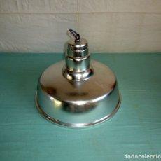 Vintage: LAMPARA INDUSTRIAL DE LA MARCA INDALUX.42 CM DE DIAMETRO.. Lote 193277885