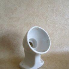 Vintage: ANTIGUA LAMPARA VINTAGE DE PORCELANA PATENTE 409. Lote 34810395