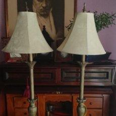 Vintage: PAREJA LAMPARAS AMERICANAS. Lote 175604989