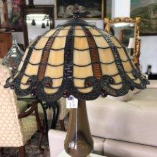 Vintage: LAMPARA TIFFANY EN MÁRMOL. Lote 175666423