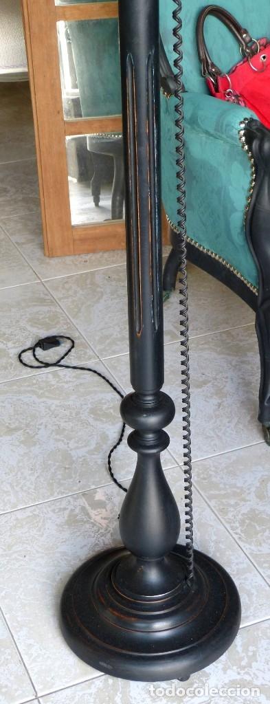 Vintage: Lámpara de pie estilo industrial - Foto 2 - 175667765