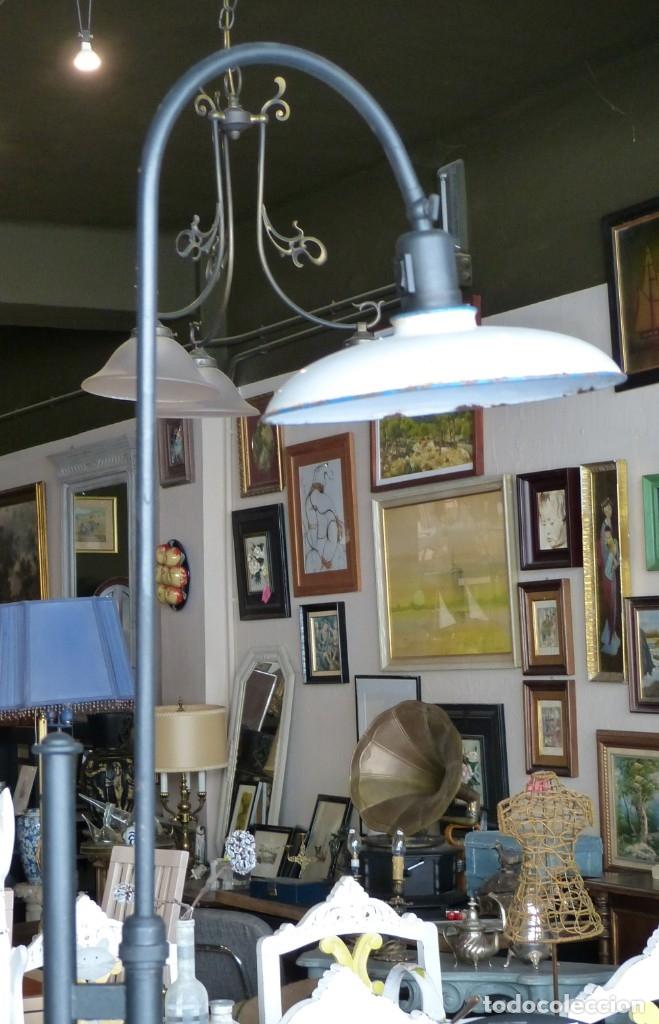 Vintage: Lámpara de pie estilo industrial - Foto 4 - 175667765