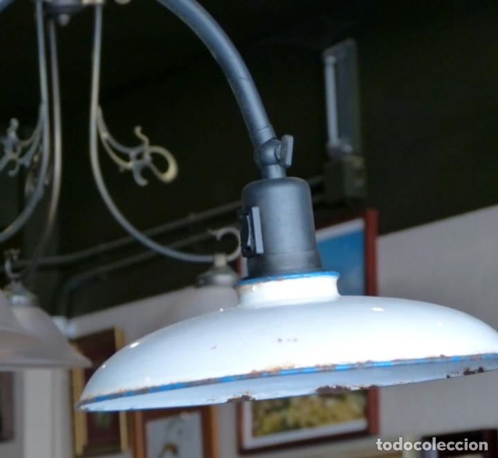 Vintage: Lámpara de pie estilo industrial - Foto 5 - 175667765