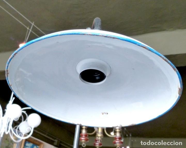 Vintage: Lámpara de pie estilo industrial - Foto 6 - 175667765