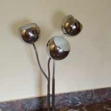 Vintage: ESTILUZ VINTAGE LAMPARA ARTICULADA DE PIE EYE BALL / SPACE AGE / EYEBALL. Lote 175895599