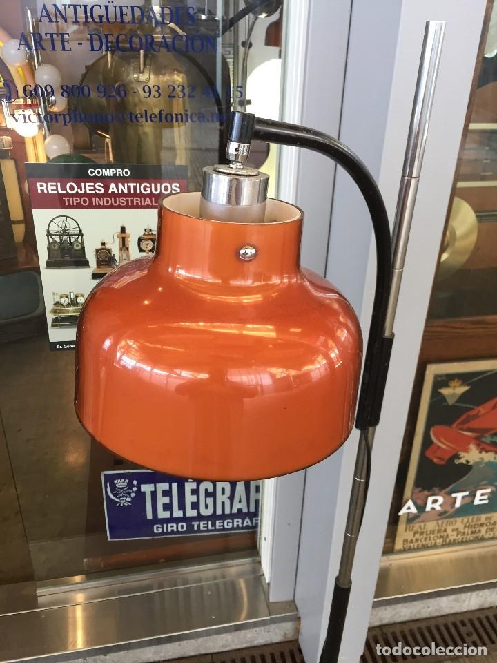 Vintage: LAMPARA DE PIE TRAMO MODELO MAX BILL DISEÑO DE MIGUEL MILA DE LOS AÑOS 60 - Foto 2 - 175985309
