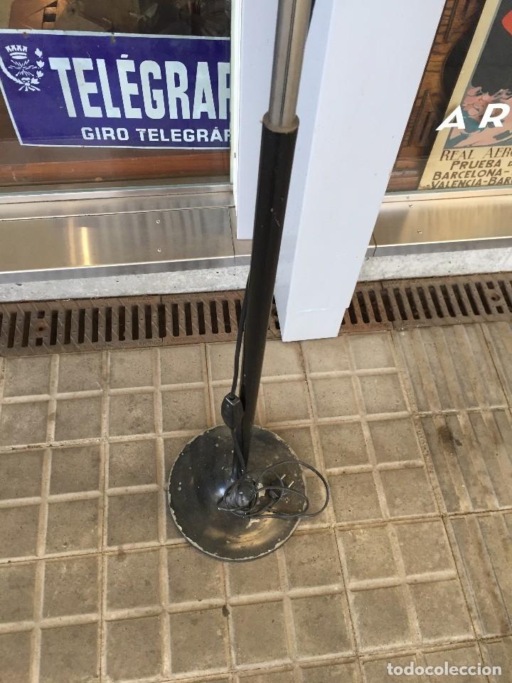 Vintage: LAMPARA DE PIE TRAMO MODELO MAX BILL DISEÑO DE MIGUEL MILA DE LOS AÑOS 60 - Foto 3 - 175985309