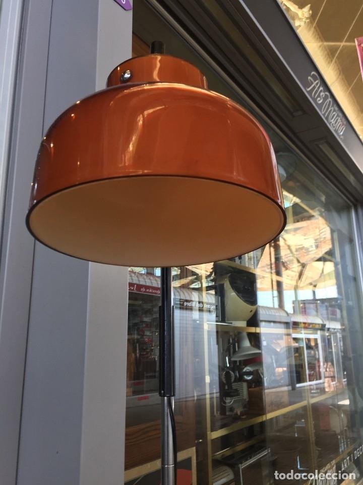 Vintage: LAMPARA DE PIE TRAMO MODELO MAX BILL DISEÑO DE MIGUEL MILA DE LOS AÑOS 60 - Foto 4 - 175985309
