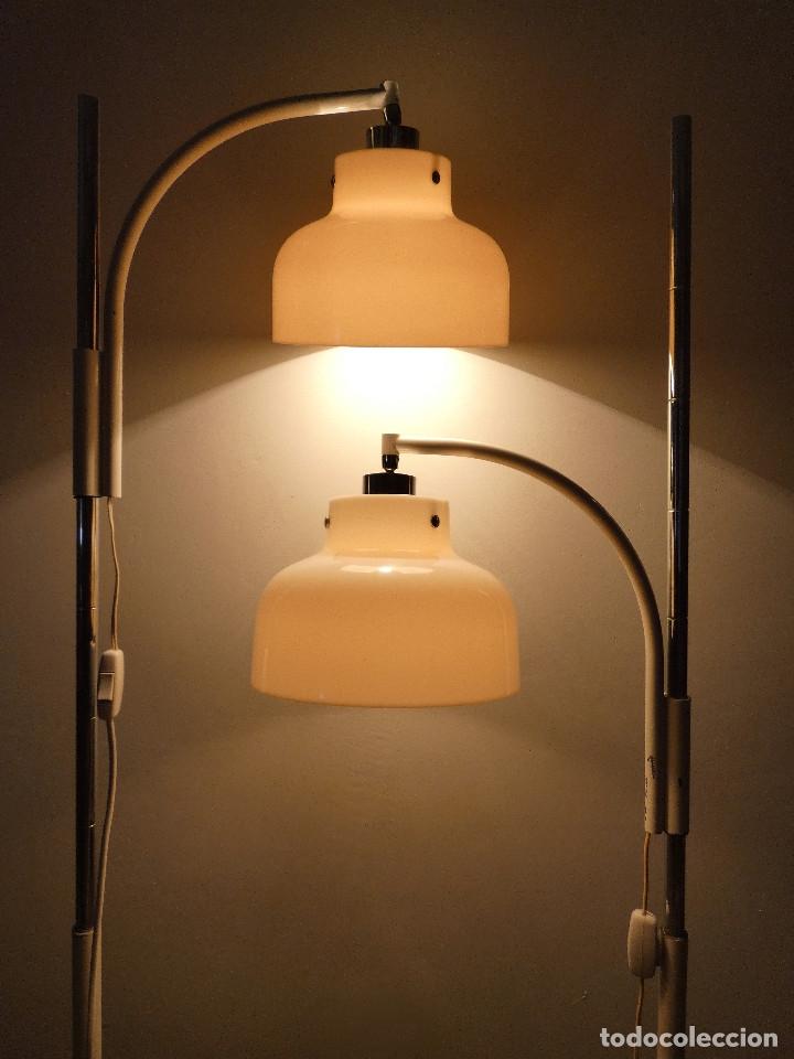 Vintage: Páreja de lámparas de pie Max Bill por Miguel Mila para Tramo, 1960s - Foto 2 - 176134457