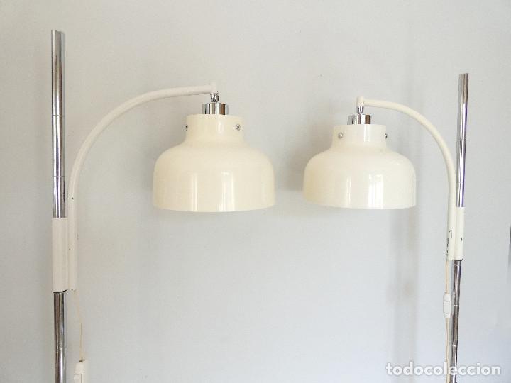 Vintage: Páreja de lámparas de pie Max Bill por Miguel Mila para Tramo, 1960s - Foto 5 - 176134457