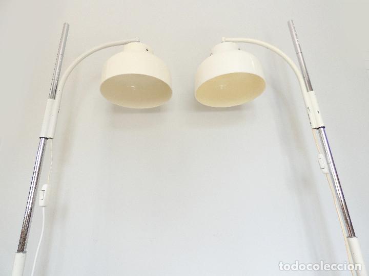 Vintage: Páreja de lámparas de pie Max Bill por Miguel Mila para Tramo, 1960s - Foto 6 - 176134457