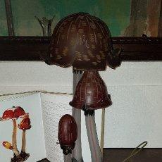 Vintage: LAMPARA LES COPRINS-EMILLE GALLE...LÁMPARA DE HONGOS. Lote 163420670
