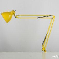 Vintage: METALARTE ARMA FLEXO SOBREMESA AMARILLO ARQUITECTURA LAMPARA VINTAGE INDUSTRIAL ESPAÑA 1960. Lote 176531165