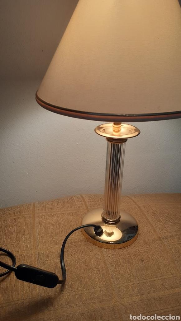 Vintage: LAMPARA DE SOBREMESA. ORIGINAL AÑOS 80. - Foto 4 - 176552124