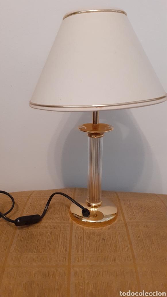 LAMPARA DE SOBREMESA. ORIGINAL AÑOS 80. (Vintage - Lámparas, Apliques, Candelabros y Faroles)