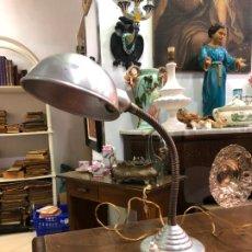 Vintage: ANTIGUA LAMPARA FLEXO DE ESTUDIO - AÑOS 70. Lote 176801442